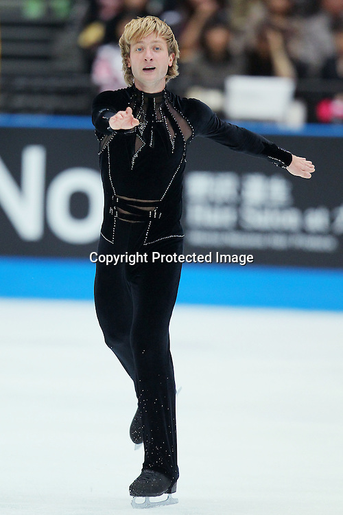 Evgeni Plushenko (RUS), OCTOBER 2, 2010 - Figure Skating : Evgeni Plushenko of Russia performs during Japan Open 2010 at Saitama Super Arena, Saitama, Japan. (Photo by Yusuke Nakanishi/AFLO SPORT) [1090]