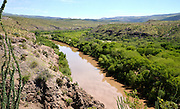 Gila Box Riparian Conservation Area, Gila River, National Landscape Conservation System, Bureau of Land Management, Safford, Arizona, USA.