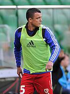 Wroclaw 18/10/2014 <br /> T-Mobile Ekstraklasa 12.kolejka <br /> Sezon 2014/2015<br /> Mecz Slask Wroclaw v Piast Gliwice<br /> Na zdj.<br /> Fot. Piotr Hawalej