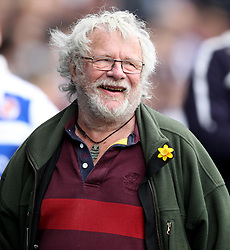 Comedian and TV Presenter Bill Odie - Photo mandatory by-line: Robbie Stephenson/JMP - Mobile: 07966 386802 - 04/04/2015 - SPORT - Football - Reading - Madejski Stadium - Reading v Cardiff City - Sky Bet Championship