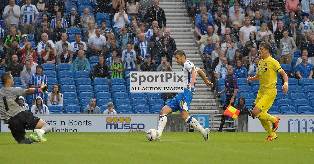 Andrea Orlandi with a shot. (c) Michael Hulf | SportPix.org.uk