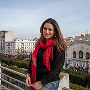 Tunisi, Sara Boudali, giornalista blogger.