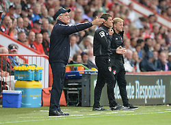 Leicester City Manager Claudio Ranieri gives his players directions. - Mandatory byline: Alex James/JMP - 07966386802 - 29/08/2015 - FOOTBALL - Dean Court -Bournemouth,England - AFC Bournemouth v Leicester City - Barclays Premier League