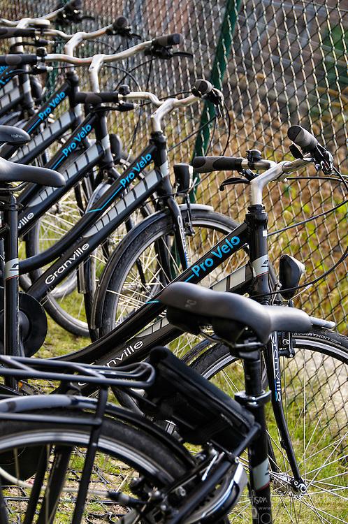 Pro Velo rental bicycles in Brussels, Belgium