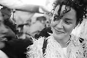 Smiling Layla, Glastonbury, 1995.