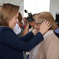Toluca, México.- Carolina Alanís Moreno, Directora General del DIFEM, durante la inauguración de la casa de día del adulto mayor en la capital mexiquense. Agencia MVT / Arturo Hernández.