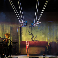 Foto Piero Cruciatti / LaPresse<br /> 14-05-2015 Milano, Italia<br /> Spettacolo<br /> Anteprima dello spettacolo ALLAVITA! del Cirque Du Soleil a Expo 2015 <br /> Nella Foto: Anteprima dello spettacolo ALLAVITA! del Cirque Du Soleil a Expo 2015<br /> <br /> Photo Piero Cruciatti / LaPresse<br /> 14-05-2015 Milan, Italy<br /> Entertainment<br /> Preview of the Cirque du Soleil show ALLAVITA! at Expo Milan 2015  <br /> In the Photo: Preview of the Cirque du Soleil show ALLAVITA! at Expo Milan 2015 Cirque du Soleil AllaVita! for Expo 2015 in Milan<br />