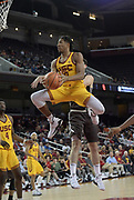 Nov 22, 2017; Los Angeles, CA, USA; Southern California Trojans guard Elijah Stewart (30) shoots the ball against the Lehigh Mountain Hawks during an NCAA basketball game at Galen Center. USC defeated Lehigh 88-63.