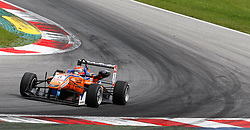03.08.2014, Red Bull Ring, Spielberg, AUT, Formel 3 Red Bull Ring Spielberg, Rennen, im Bild Lukas Auer (AUT/ kfzteile24 Mücke Motorsport/ Dallara F312 - Volkswagen) // Lukas Auer (AUT/ kfzteile24 Muecke Motorsport/ Dallara F312 - Volkswagen)  during the Formula 3 Championships 2014 at the Red Bull Ring, Spielberg, Austria on 2014/08/03, EXPA Pictures © 2014, PhotoCredit: EXPA/ Erwin Scheriau