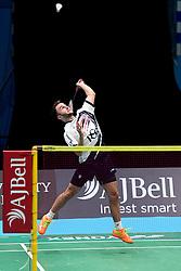 Ben Lane of Bristol Jets  - Photo mandatory by-line: Robbie Stephenson/JMP - 07/11/2016 - BADMINTON - University of Derby - Derby, England - Team Derby v Bristol Jets - AJ Bell National Badminton League