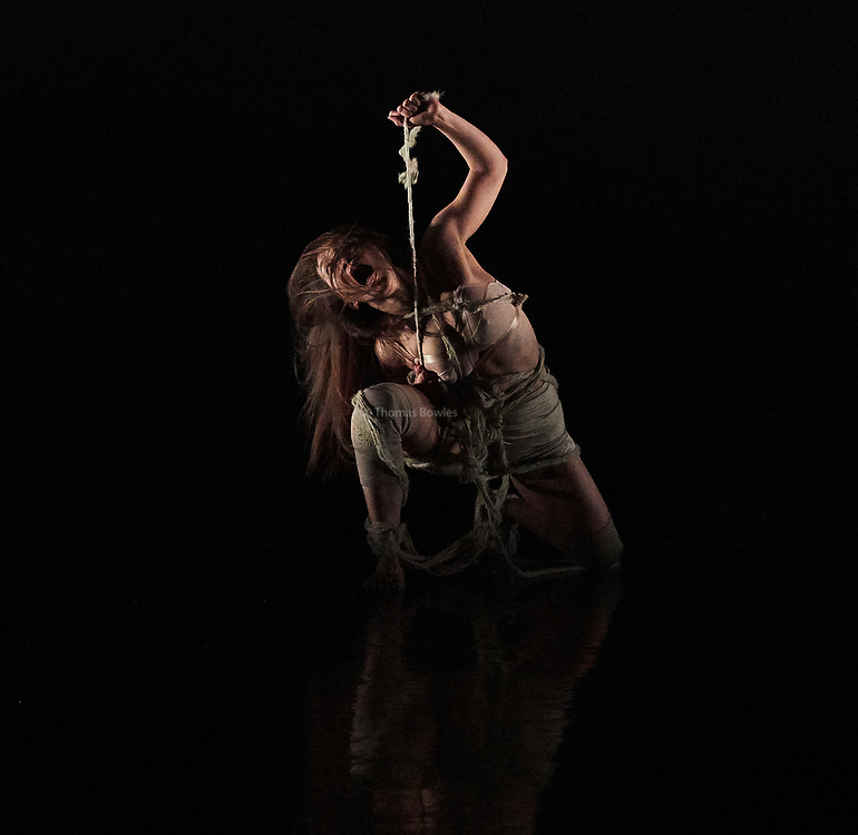 London, UK.8th June  2017. Guerreras, Wild Card by Ella Mesma At Sadler's Wells Lilian Baylis Studio.<br /> Performed By Hsing-Ya Wu