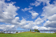 Salisbury Mills, New York - A view of the Moodna Viaduct railroad trestle on Sept. 15, 2012.
