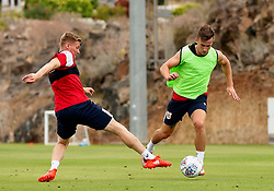 Joe Bryan of Bristol City takes on Taylor Moore - Mandatory by-line: Matt McNulty/JMP - 21/07/2017 - FOOTBALL - Tenerife Top Training Centre - Costa Adeje, Tenerife - Pre-Season Training