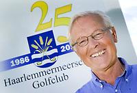 VIJFHUIZEN - Voorzitter Wim Wessels van de  Haarlemmermeersche Golf Club. COPYRIGHT KOEN SUYK