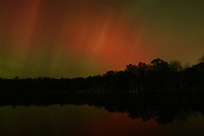 Times Herald-Record/TOM BUSHEY..Northern lights in Middletown..Oct. 30, 2003..17  10  2.8  200..