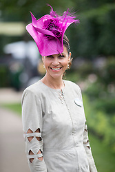 Julia Bradbury. Image ©Licensed to i-Images Picture Agency. 20/06/2014. Ascot, United Kingdom. Royal Ascot. Ascot Racecourse. Picture by i-Images