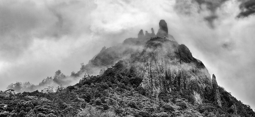 Mount Manaia is a dominant landmark approximately 30 kilometres southeast of Whangarei city on the Whangarei Heads peninsula.<br /> <br /> Standing 420 metres, the summit offers outstanding views of the Marsden Point Oil Refinery, Bream Bay and the Hauraki Gulf to the south, Whangarei Harbour to the west and the Poor Knights Islands and Northland coast to the north.