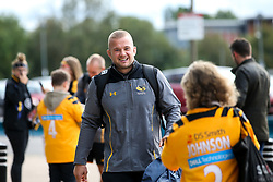 Tom Cruse of Wasps arrives at The Ricoh Arena for the Premiership Cup fixture with Worcester Warriors - Mandatory by-line: Robbie Stephenson/JMP - 12/10/2019 - RUGBY - Ricoh Arena - Coventry, England - Wasps v Worcester Warriors - Premiership Rugby Cup