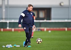 Chris Roberts assistant coach for Bristol City Women - Mandatory by-line: Paul Knight/JMP - 28/10/2017 - FOOTBALL - Stoke Gifford Stadium - Bristol, England - Bristol City Women v Reading Women - FA Women's Super League