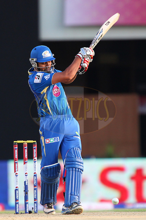 Rohit Sharma during match 69 of the Pepsi Indian Premier League between The Kings XI Punjab and the Mumbai Indians held at the HPCA Stadium in Dharamsala, Himachal Pradesh, India on the on the 18th May 2013..Photo by Ron Gaunt-IPL-SPORTZPICS ..Use of this image is subject to the terms and conditions as outlined by the BCCI. These terms can be found by following this link:..http://www.sportzpics.co.za/image/I0000SoRagM2cIEc