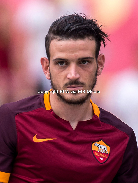 Italian League Serie A -2015-2016 / <br /> ( AS Roma ) - <br /> Alessandro Florenzi