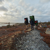 Bouldering Nova Scotia Land of Confusion