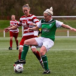 Hibernian Ladies v Hamilton Ladies | Scottish Women's Premier League | 08 April 2012