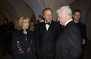 Jonathan and Penny Marland and Christian Fenwick. The Leader's Dinner ( Michael Howard's ) Banqueting House. Whitehall. London.  November 2005. ONE TIME USE ONLY - DO NOT ARCHIVE  © Copyright Photograph by Dafydd Jones 66 Stockwell Park Rd. London SW9 0DA Tel 020 7733 0108 www.dafjones.com