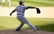 CHICAGO - APRIL 09:  Jose Alvarado #46 of the Tampa Bay Rays pitches against the Chicago White Sox on April 9, 2019 at Guaranteed Rate Field in Chicago, Illinois.  (Photo by Ron Vesely)  Subject:   Jose Alvarado