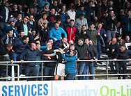 Dundee&rsquo;s Darren O&rsquo;Dea celebrates after firing home the equaliser from the penalty spot - Dundee v Ross County, in the Ladbrokes Scottish Premiership at Dens Park, Dundee, Photo: David Young<br /> <br />  - &copy; David Young - www.davidyoungphoto.co.uk - email: davidyoungphoto@gmail.com