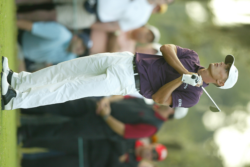 Charles Howell III.2003 Tour Championship.Final Round.Champions Golf Club.Houston, TX.November 9, 2003..photograph by Darren Carroll