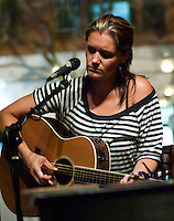 Chelsea Berry at the Franklin Cafe in Gloucester, MA.