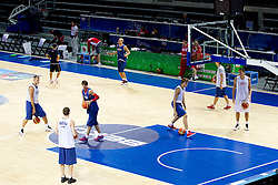 Practice session of Russian National basketball team 1 day before Eurobasket Lithuania 2011, on August 29, 2011, in Arena Svyturio, Klaipeda, Lithuania. (Photo by Vid Ponikvar / Sportida)