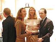 Tamara Mellon, Cosima von Bulow and Jean-Marc Loubier. Celine fashion show and lunch. New Bond St. London. 8 May 2001. © Copyright Photograph by Dafydd Jones 66 Stockwell Park Rd. London SW9 0DA Tel 020 7733 0108 www.dafjones.com