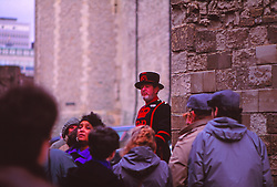 Tower of London Beefeater Conducting Tour, London