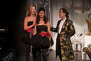 SUSAN PARKES; JUSTINE GLENTON; CHARLES ELIASCH; , Rehearsal for As I Like it. A memory by Amanda Eliasch and Lyall Watson. Chelsea Theatre. Worl's End. London. 4 July 2010<br /> <br />  , -DO NOT ARCHIVE-© Copyright Photograph by Dafydd Jones. 248 Clapham Rd. London SW9 0PZ. Tel 0207 820 0771. www.dafjones.com.