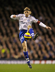 Liverpool, England - Wednesday, December 5, 2007: Zenit St. Petersburg's captain Anatoliy Tymoschuk in action against Everton during the UEFA Cup Group A match at Goodison Park. (Photo by David Rawcliffe/Propaganda)