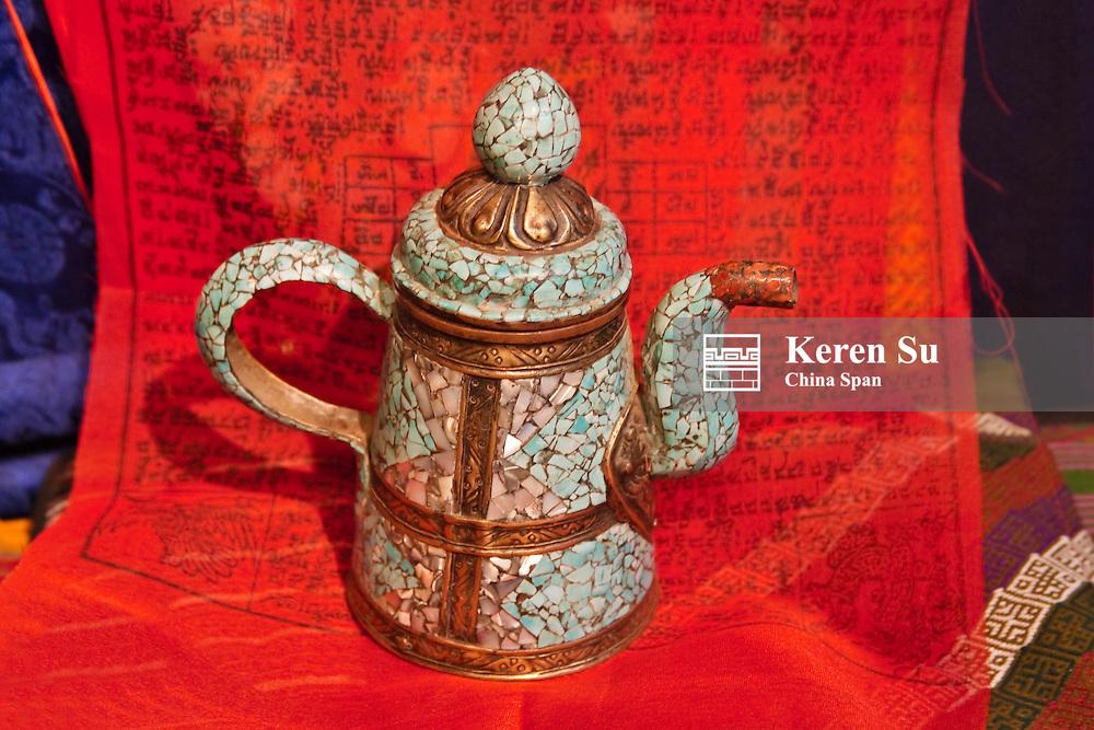A china teapot, Bhutan