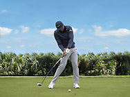 Jason Day<br /> High Speed Swing sequence face on <br /> <br /> Golf Pictures Credit by: Mark Newcombe / visionsingolf.com
