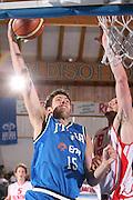 DESCRIZIONE : Bormio Torneo Internazionale Gianatti Italia Austria <br /> GIOCATORE : Angelo Gigli<br /> SQUADRA : Nazionale Italia Uomini <br /> EVENTO : Bormio Torneo Internazionale Gianatti <br /> GARA : Italia Austria <br /> DATA : 31/07/2007 <br /> CATEGORIA : Tiro<br /> SPORT : Pallacanestro <br /> AUTORE : Agenzia Ciamillo-Castoria/G.Cottini<br /> Galleria : Fip Nazionali 2007<br /> Fotonotizia : Bormio Torneo Internazionale Gianatti Italia Austria<br /> Predefinita :