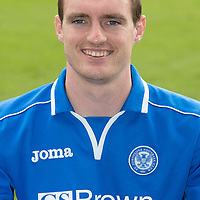 St Johnstone FC 2013-14<br /> David Robertson<br /> Picture by Graeme Hart.<br /> Copyright Perthshire Picture Agency<br /> Tel: 01738 623350  Mobile: 07990 594431
