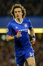 David Luiz of Chelsea in action  Mandatory by-line: Jason Brown/JMP - 08/05/17 - FOOTBALL - Stamford Bridge - London, England - Chelsea v Middlesbrough - Premier League