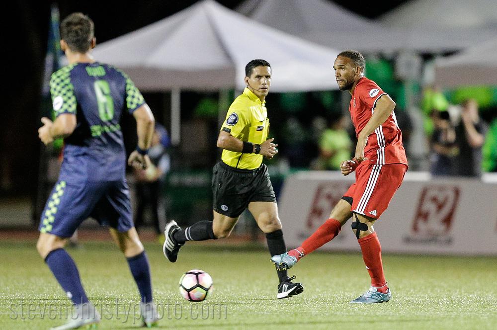 June 6, 2017: OKC Energy FC plays Phoenix Rising FC in a USL game at Taft Stadium in Oklahoma City, Oklahoma.