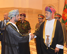 New sworn-in Sultan Haitham Bin Tariq Bin Taimour of Oman - 13 Jan 2020