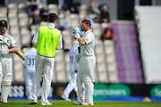 Warwickshire's Ian Bell having a drinks break during an increasingly warm morning during the Specsavers County Champ Div 1 match between Hampshire County Cricket Club and Warwickshire County Cricket Club at the Ageas Bowl, Southampton, United Kingdom on 12 April 2016. Photo by Graham Hunt.