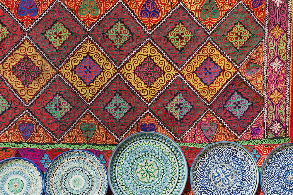 Ouzbekistan, Boukhara, patrimoine mondial de l Unesco, artisanat pour touriste // Uzbekistan, Bukhara, Unesco world heritage, Craft for tourist