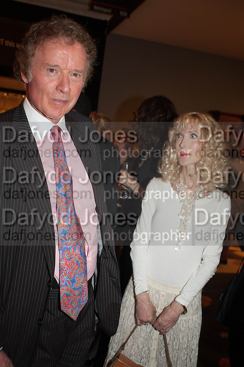 Richard Briggs and Basia Briggs at the Opening of The LAPADA  Art and Antiques Fair. Berkeley Sq. London. 24 September 2013.