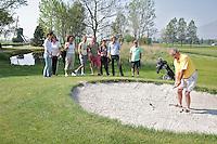 NOORDWIJK - Open Golfdagen op Golfcentrum Noordwijk.  NGF. Foto KOEN SUYK