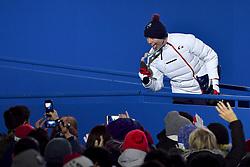 BAUCHET_Arthur, Podium, ParaSkiAlpin, Para Alpine Skiing, Downhill, Descente, Podium at PyeongChang2018 Winter Paralympic Games, South Korea.