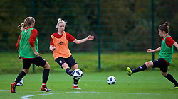 NEWPORT, WALES - Tuesday, November 6, 2018: Wales' Rhiannon Roberts during a training session at Dragon Park ahead of two games against Portugal. (Pic by Paul Greenwood/Propaganda)